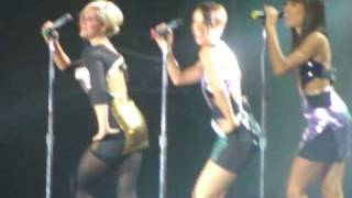 HQ Sugababes - Push The Button LIVE @ Capital FM's Jingle Bell Ball 2009 (5.12.09)