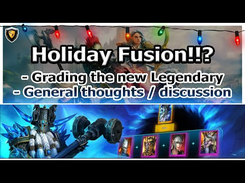 RAID Shadow Legends | Holiday Fusion!!? | Grading New Legendary / General Discussion
