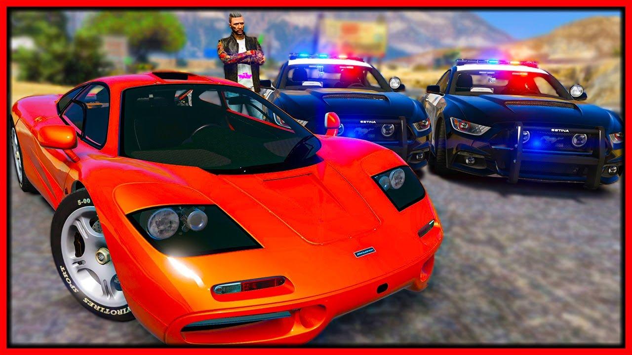 Elanip - GTA 5 Roleplay - embarrassing cops in $16,000,000 stolen supercar | RedlineRP