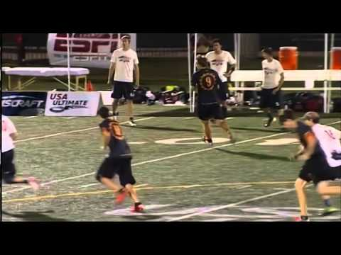 Video Thumbnail: 2014 National Championships, Men's Semifinal: Boston Ironside vs. Raleigh Ring of Fire (Second Half)