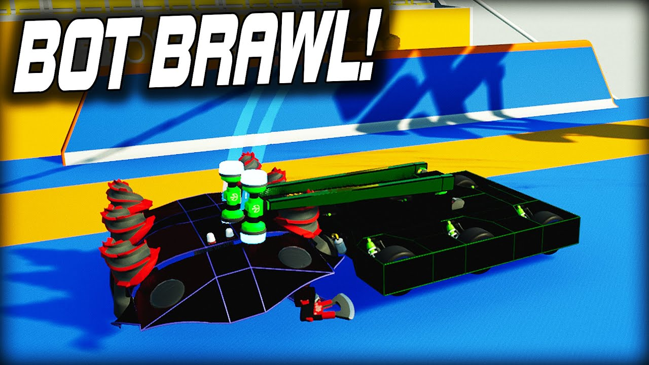 kAN Gaming - Trying the New BOT BRAWL Multiplayer Game Mode! (Main Assembly Gameplay)