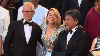Cannes festival winners and jury celebrate with Sting and Shaggy