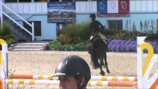 Diago at Devon Fall Classic 2012 Low JrAO Jumpers Friday