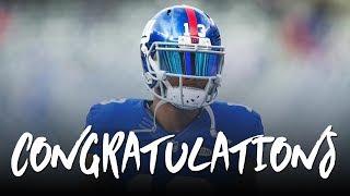 Odell Beckham Jr: Congratulations ft. Post Malone (2017 Giants Highlights) ᴴᴰ