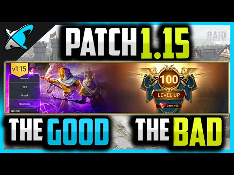 PATCH 1.15 is out.. The GOOD & The BAD !! | RAID: Shadow Legends