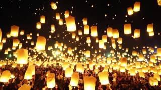 Vea cómo fue celebrada la fiesta budista de las luces en Tailandia