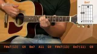 videoclase Black Balloon - Goo Goo Dolls (aula de violão completa)