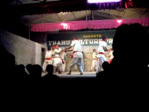 Traditional Stick dance fight in Chitwan, Nepal