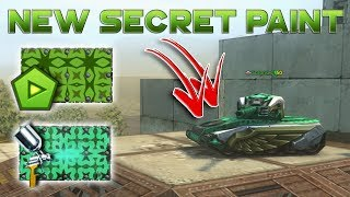 HOW TO GET NEW SECRET ANIMATED PAINT VALOUR - Tanki Online Mobile Version Parade of Beginners