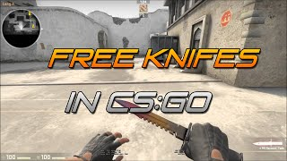 How to get knives for free custom server videos / InfiniTube