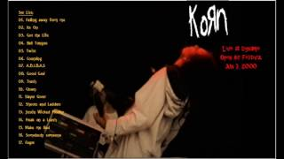 KoRn 06 Counting Live at Dynamo Open Air Festival Jun 3, 2000.