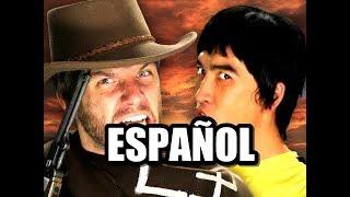 ERB Español - Bruce Lee vs Clint Eastwood [Season 2] (Subtitulos Español)