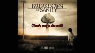 Breakdown Of Sanity -Covered By A Mask(lyric video)