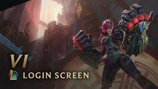 Vi, the Piltover Enforcer | Login Screen - League of Legends
