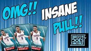 Insane Pack Luck | 87+ Pull | NBA Live Mobile