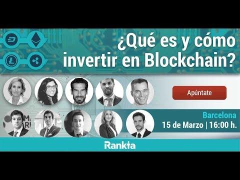 ¿Cómo invertir en criptomonedas y qué es Blockchain? II Edición - Streaming
