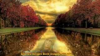 Stevie Wonder & Sting-Fragile (lyrics)