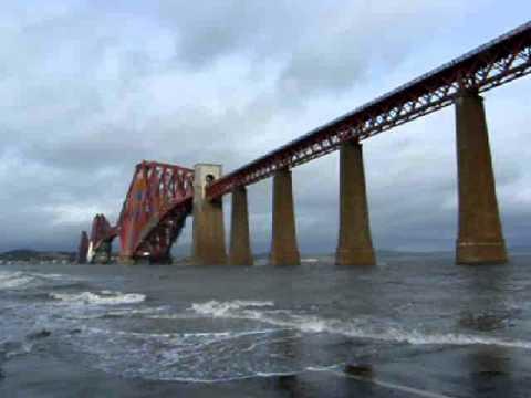 February Forth Railway Bridge Scotland