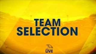 Team Selection Live: R3