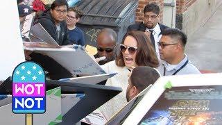 Star Wars Daisy Ridley CHAOS as fans swarm actress in LA