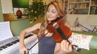 Salvador Sobral - Amar Pelos Dois (violin cover)