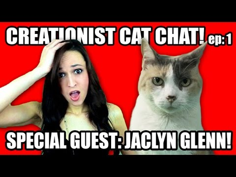 Creationist Cat Chat with Jaclyn Glenn!