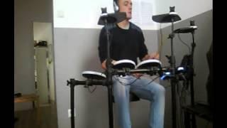 Drum cover du titre Alane de wes que j'adore... écoutez et laisser vos commentaires constructifs!