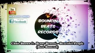 Chris Brown ft  Benny Benassi  - Beautiful People - Bass Boosted