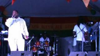 """Fatman George"" on ""vacationers"" at the 2011 Independence Calypso Competition Feb 5th, 2011"
