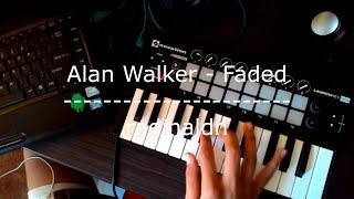 Alan Walker - Faded // Novation // Launchkey Mini // Launchpad Live Performance [radinaldn cover]