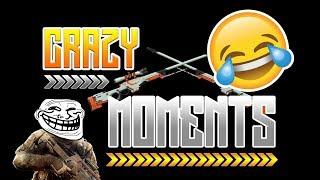 CRAZY MOMENTS | CS:GO | FUNNY MOMENTS