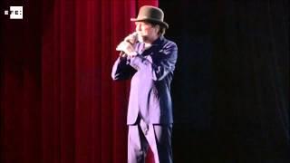 Miguel Bosé, espectador de lujo del concierto de Sabina en Panamá
