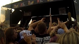 Phineas and Ferb Theme Song: Bowling For Soup Live Warped Tour 2014