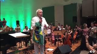 """APÓS 50 ANOS - Geraldo Vandré canta """"Pra não dizer que não falei das flores (Caminhando)"""""""