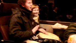 "Taizé Genève - ""Cantarei ao Senhor"" live in the train"