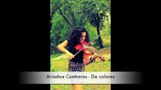 Ariadna Contreras - De colores (Canción Original)