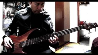 The Raven bass cover (The Alan Parsons Project)