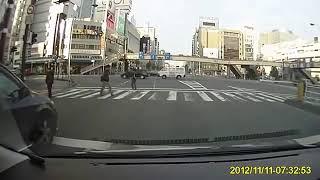 Aksi yakuza di jalan raya