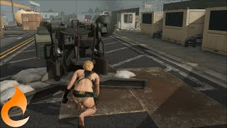 [MGO3] Being a Better Infiltrator - Supporting Fire
