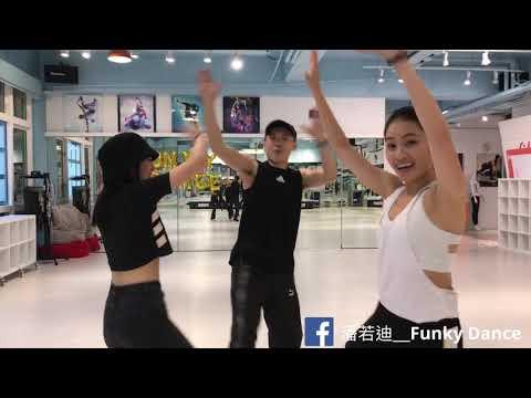 潘若廸_Funky Dance_「三角舞」分解動作 完整版 - YouTube