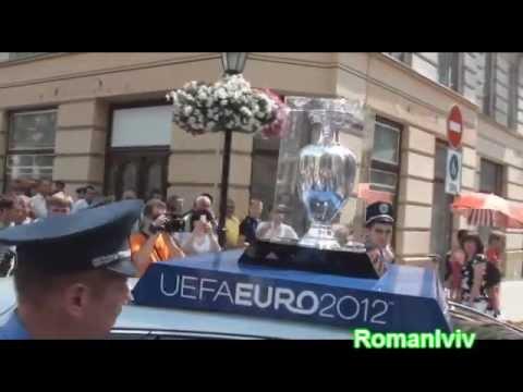 Кубок Євро-2012 у Львові – Henri Delaunay Trophy in L'viv