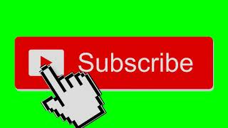 Subscribe  button|| in green screen