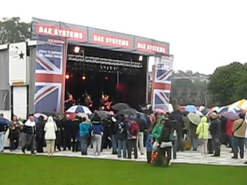 Red Hot Chili Pipers in Holyrood Park #2