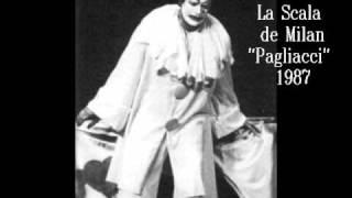 Recitar, mentre preso dal delirio ...Vesti la giubba  - Jose  Carreras Live