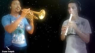 Noite de paz - Leila Praxedes (Trompete e Flauta - cover)