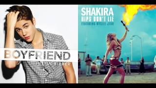 Justin Bieber vs. Shakira ft. Wyclef Jean - Boyfriend Don't Lie