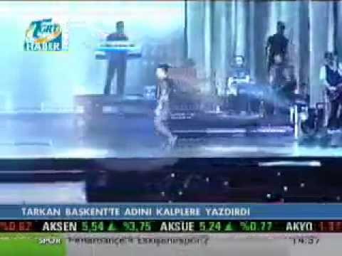 -TARKAN- Ankara Konser'de Concert in Ankara 06-11-2010
