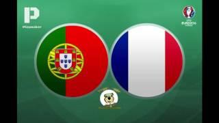 PORTUGAL CAMPEÂO DA EUROPA Portugal 1 x 0 França GOLO DE ÉDER (Antena 1) Final Euro 2016