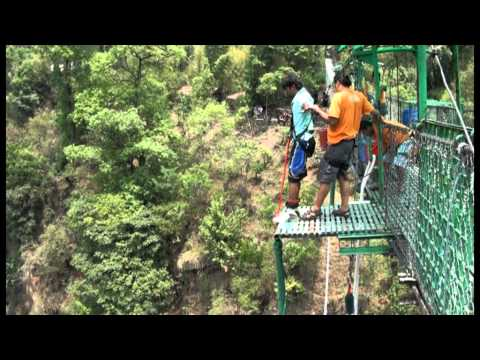 3rd world largest bungy- praneet(India)