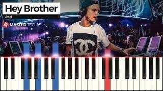 💎 Hey Brother - Avicii   Piano Tutorial 💎